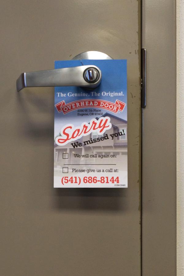 """Door Hangers - 4"""" x 7"""""""