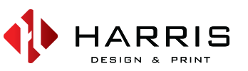 Harris Design and Print Logo